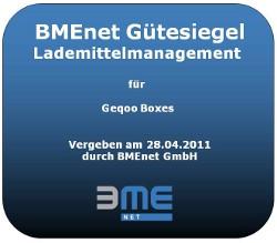 Gütesiegel Lademittelmanagement BME
